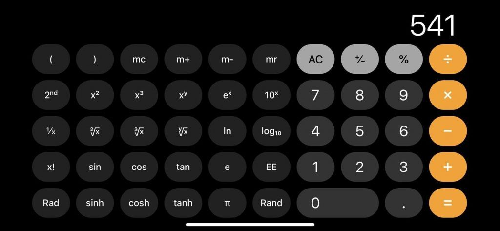 How To Use Scientific Calculator On Your Iphone In 2020 Iphone Life Hacks Scientific Calculators Useful Life Hacks