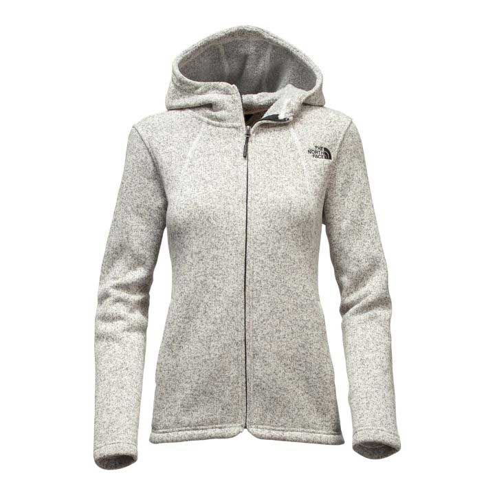 fca460996 The North Face Crescent Full Zip Hoodie for Women in Vintage White ...
