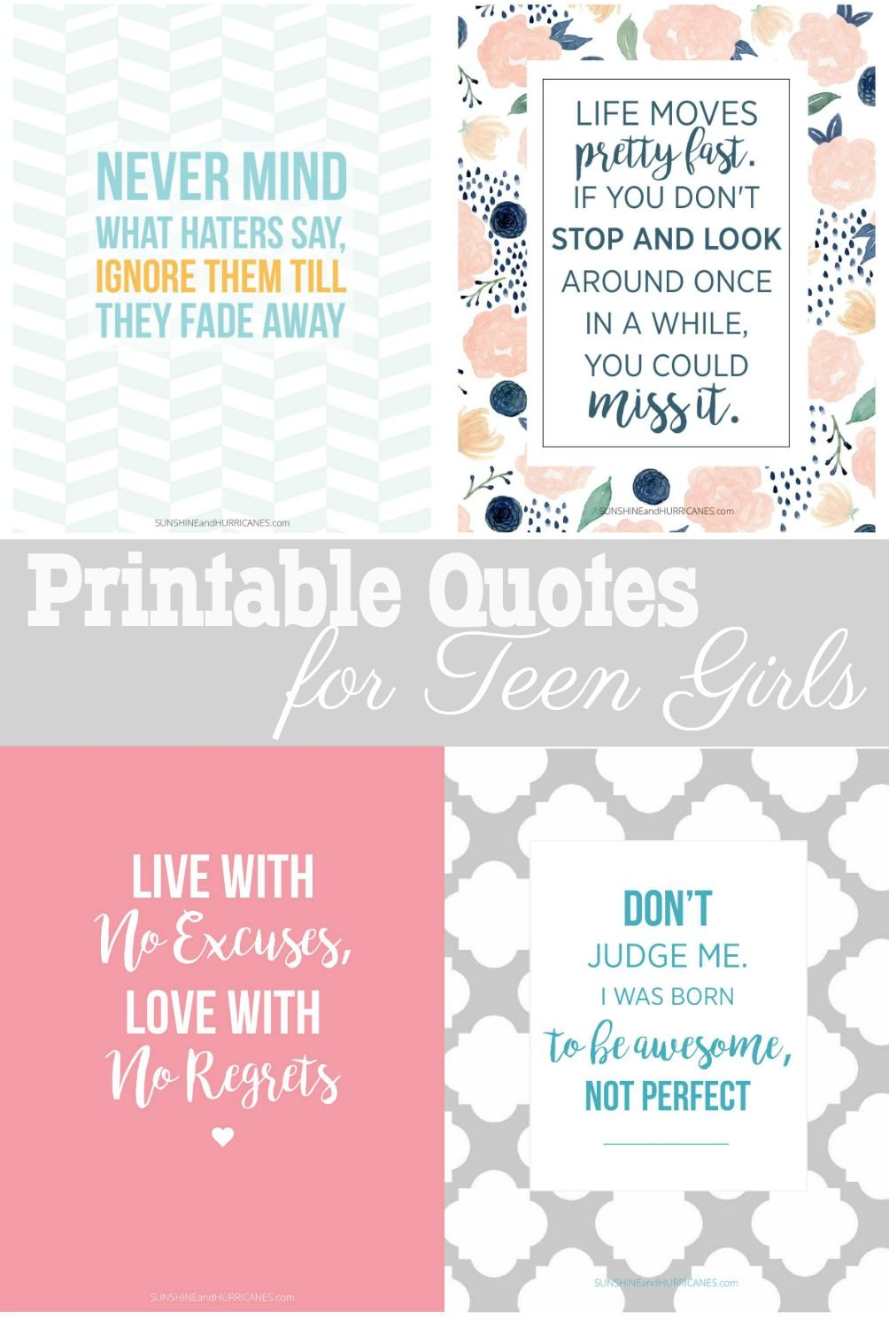 Printable Quotes For Teen Girls - Fun And Totally Free -6437