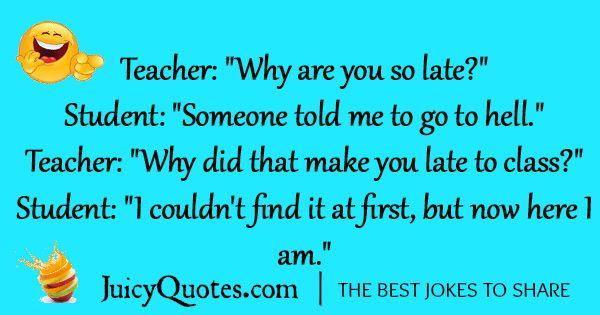 Funny School Jokes Teacher And Student Jokes Funny School Jokes Student Jokes School Jokes