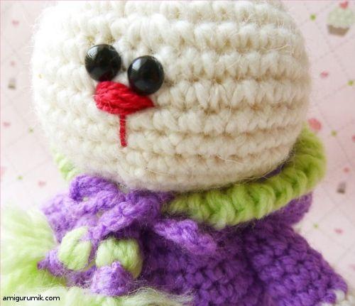 Amigurumi Kostümlü Tavşan Yapılışı 15