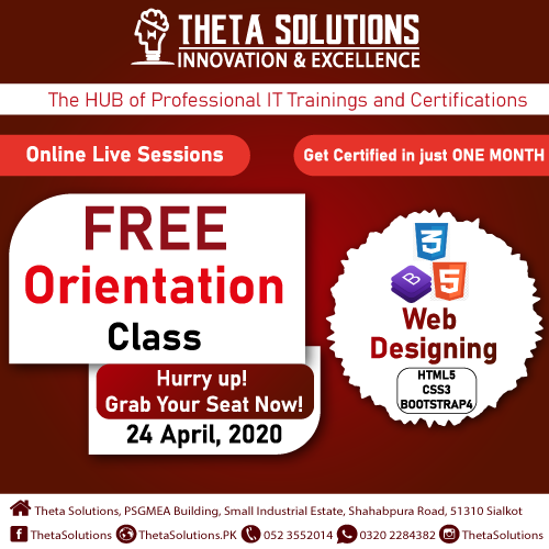Online Live Free Orientation Session In 2020 Solutions Web Class Theta
