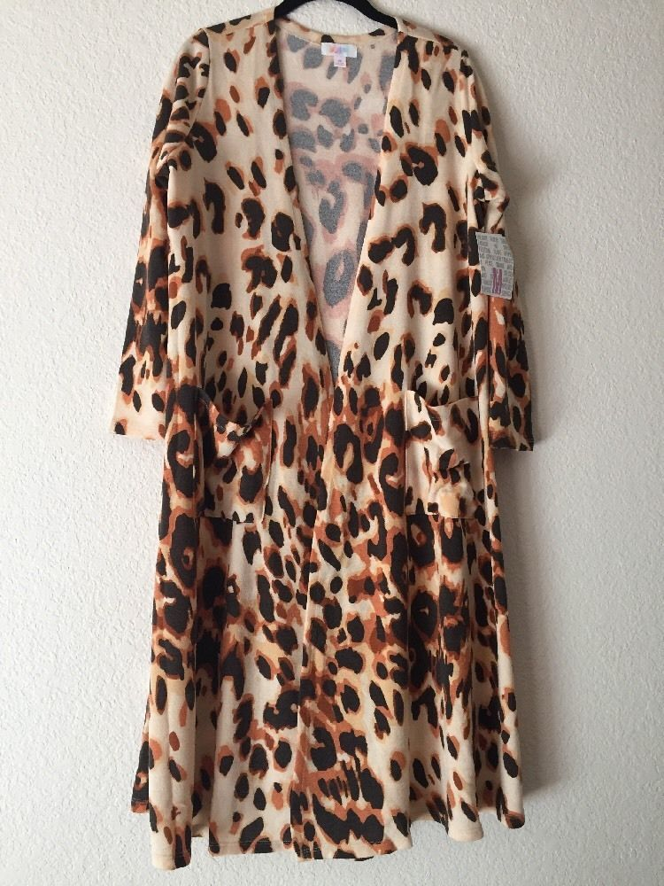 Lularoe Leopard Sarah Medium Animal Print Cheetah Unicorn Htf Rare ...