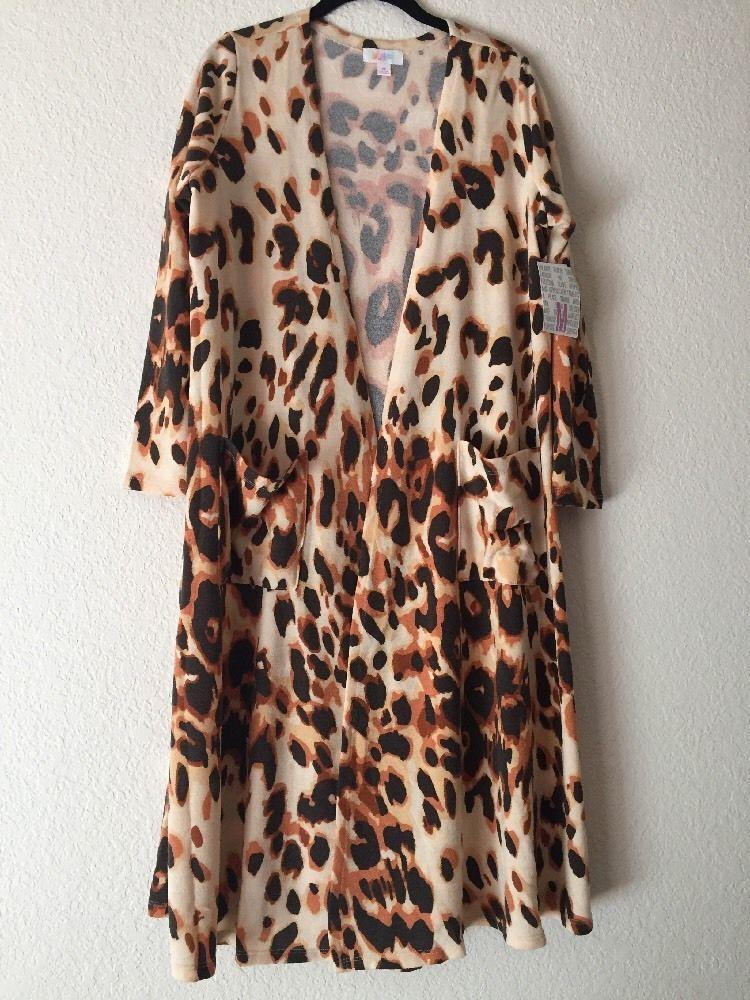 Lularoe Leopard Sarah Medium Animal Print Cheetah Unicorn Htf Rare ...