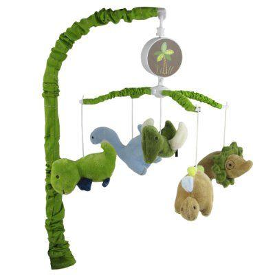 "Adorable Dino Musical Mobile - finally an ""affordable"" mobile!"