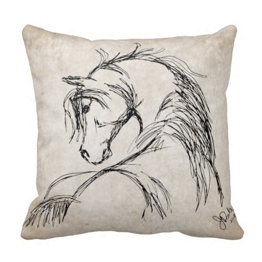 This beautiful and artistic sketch is by Jessica Drake and features the image of a pen and ink drawing of a horse head arched with a pretty flowing mane. This piece of equestrian art or artwork makes a great gift for horse lovers and animal lover of any age! Look in my shop for other products with this classy equine pony image! Also great for country western themed home decor.