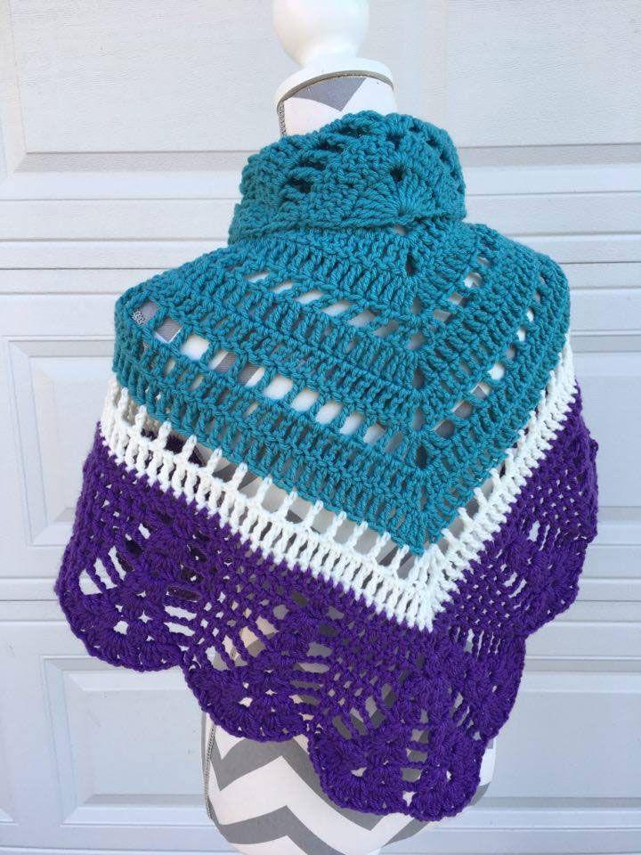 Crochet Comfort Shawl Pattern + Tutorial   Crochet crochet