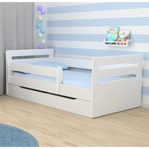 Cabin Bed with Mattress and Drawer Zoomie Kids Lying