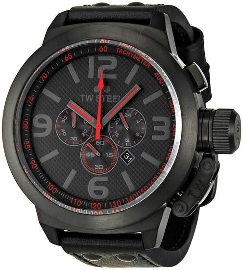 Luxstyle4u - Men's Stainless Steel Case Chronograph Black Dial Red Hands Leather Strap Date Display , $452.00 (http://www.luxstyle4u.com/mens-stainless-steel-case-chronograph-black-dial-red-hands-leather-strap-date-display/)