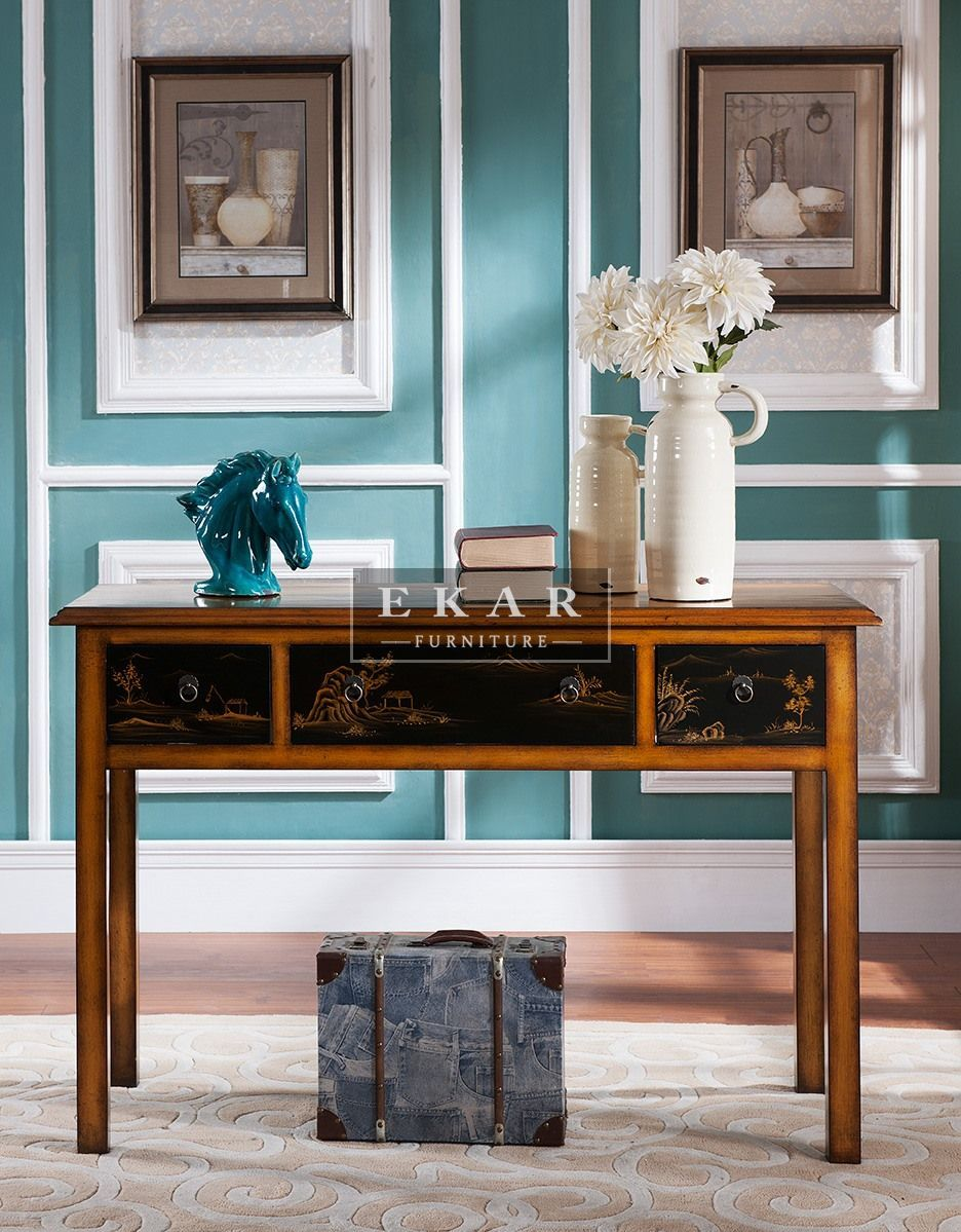 Glass console table with mirror ekarfurnituredesignconsoletable  console tables  furniture
