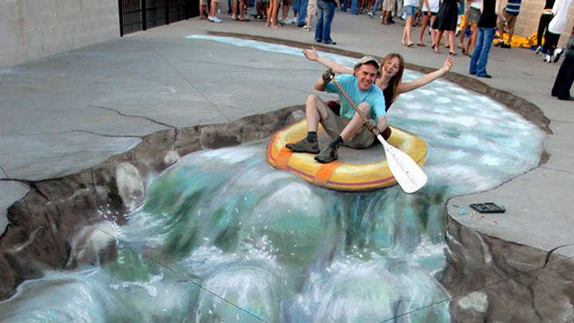 17 Best images about 3d Trick Art on Pinterest | Search, Street ...