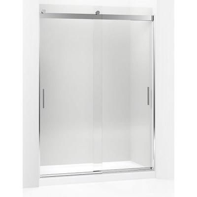 Kohler Levity 56 6250 In To 59 6250 In Frameless Bright Silver