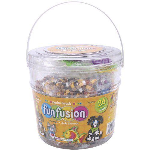 Perler Fuse Bead Activity Bucket, Fun Fusion/Pet Pals - Perler Fuse Bead Activity Bucket, Fun Fusion/Pet Pals $39.26 (save $28.73)