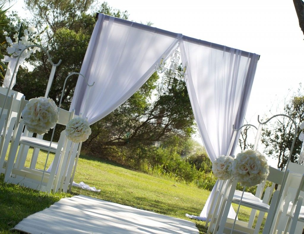 wedding canopy Beautiful Wooden Arches For Weddings With Square Arch In White Theme Seasonal Beautiful Pictures Of