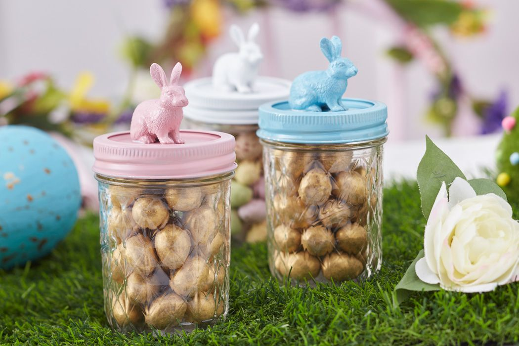 How to make bunny jars hobbycraft blog bunny jar and easter crafts how to make bunny jars hobbycraft blog official negle Images