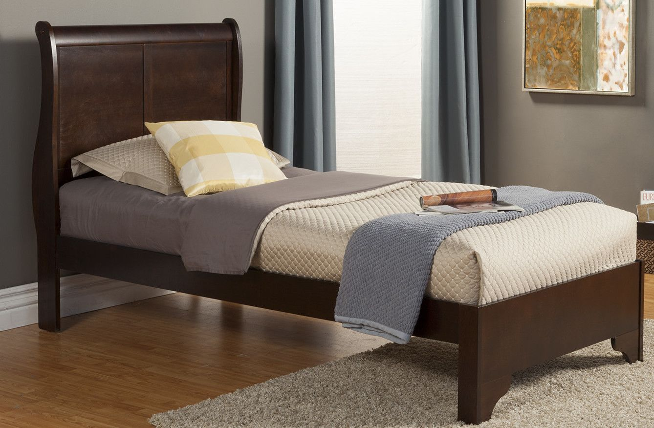 - West Haven Twin Sleigh Bed With Low Footboard Loft Bed Frame
