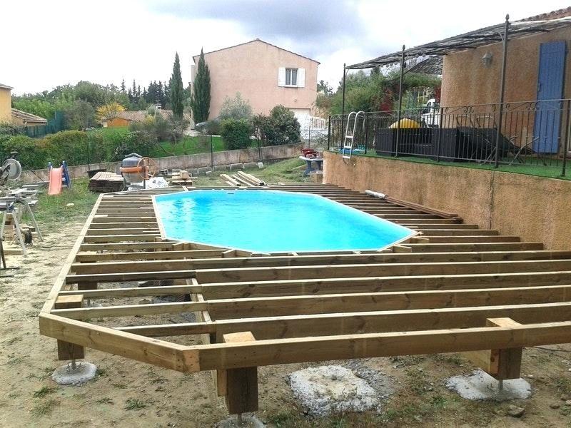 Terrasse Bois Suspendue Sur Pilotis Et Balcons Angers Prix D Une En  Ground pools in 2019