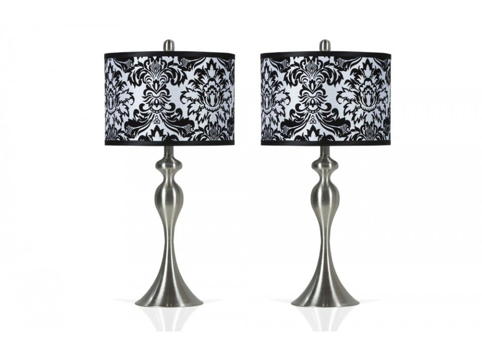 Lamp sets · set of 2 damask lamps lamps home accents bobs discount furniture