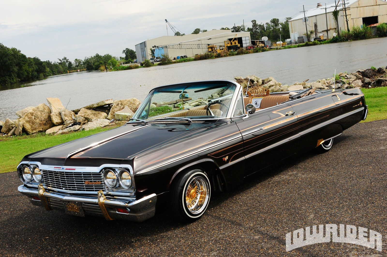 President sully lewis and his 1964 chevrolet impala ss convertible