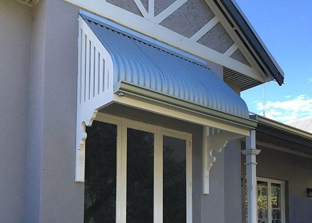 Timber Awning - Subiaco | Awnings Perth, Commercial ...