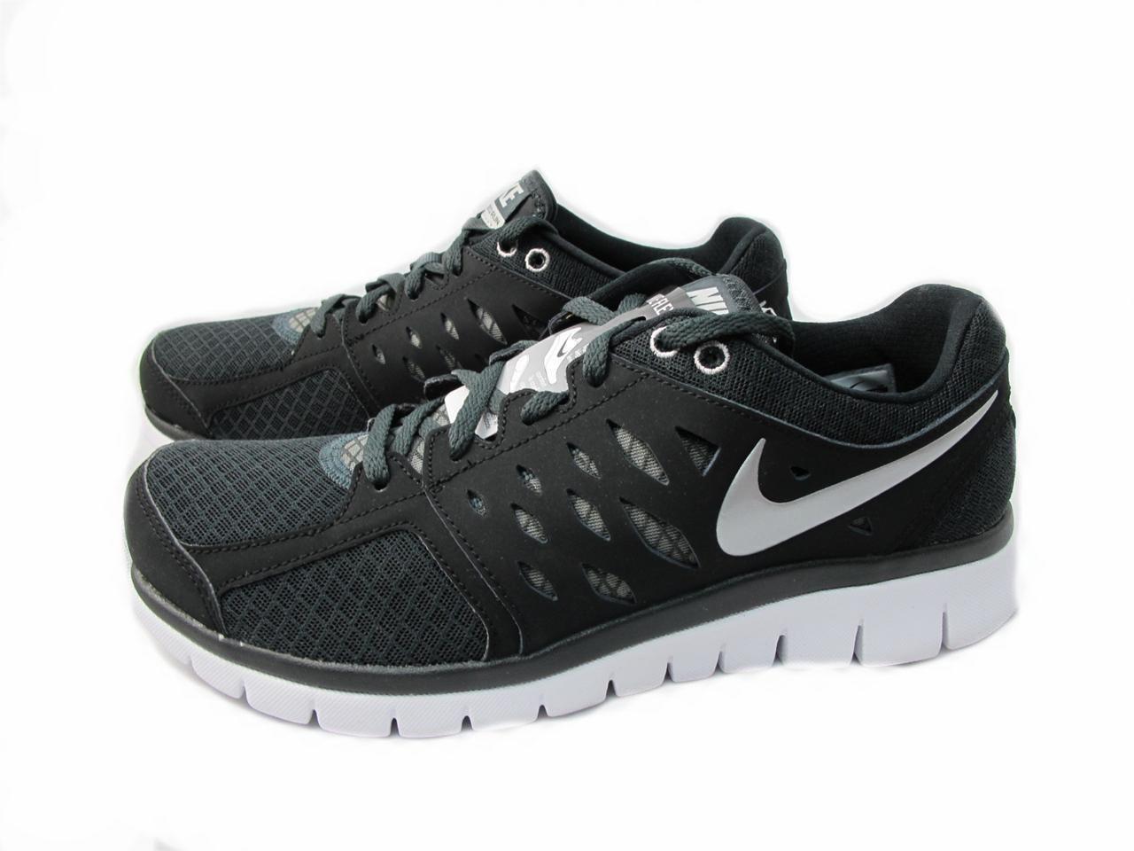 new arrival febb8 28b58 NIKE FLEX 2013 RN Black Silver White 579821 004 Running Men   Fitness,  Health   Useful Info.   Nike flex, Nike, Black silver