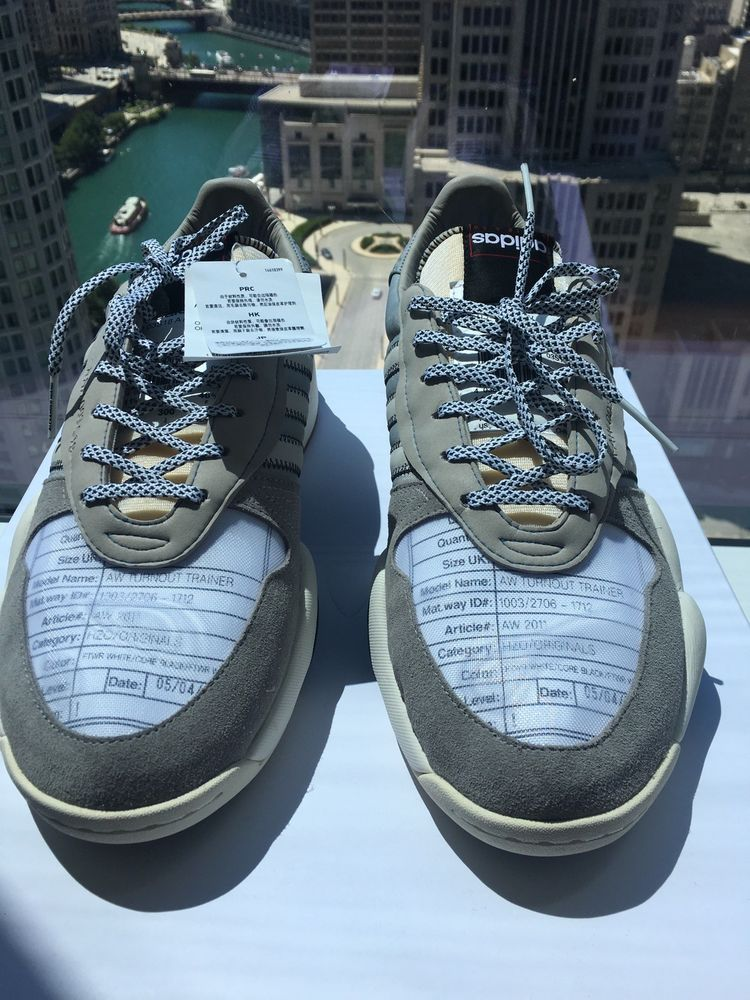 438f7b508389 Adidas Originals Alexander Wang AW Turnout Trainer B43589 Light Brown Grey   fashion  clothing  shoes  accessories  mensshoes  athleticshoes (ebay link)