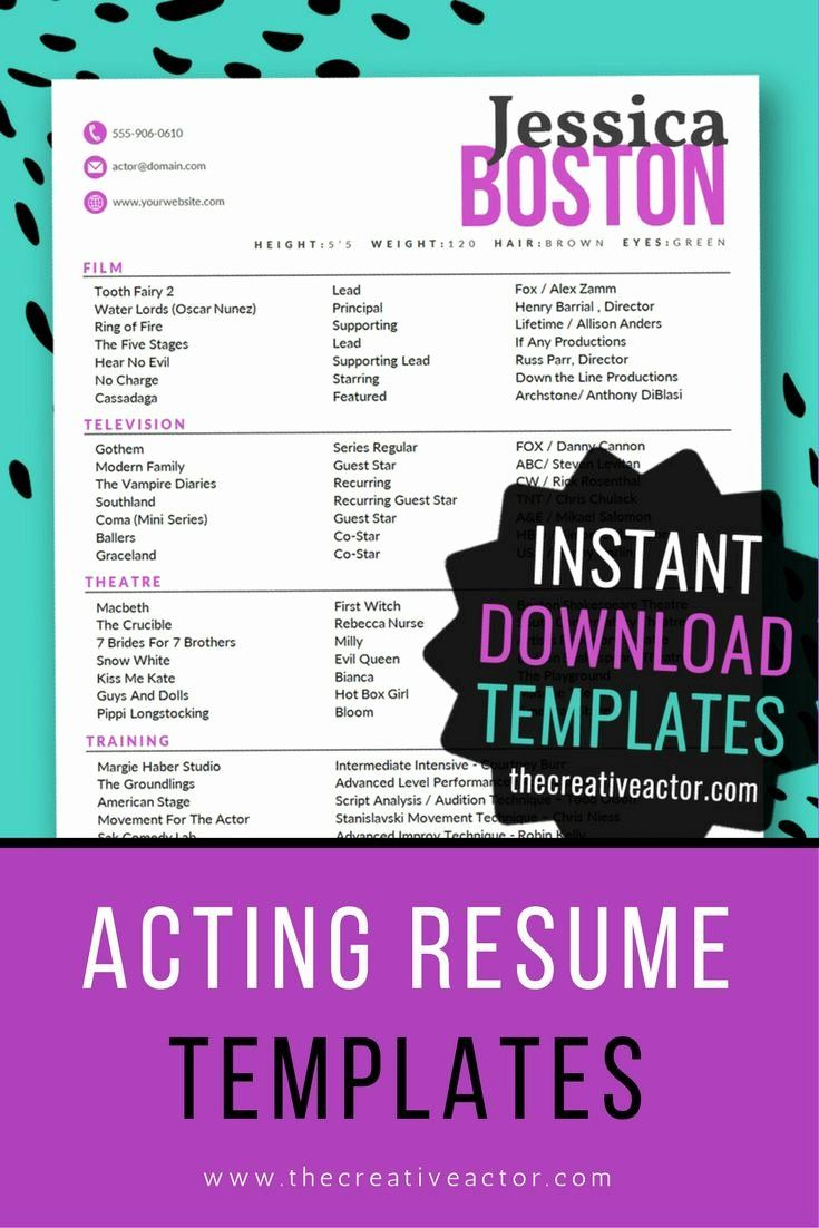 20 beginner voice over resume in 2020 with images