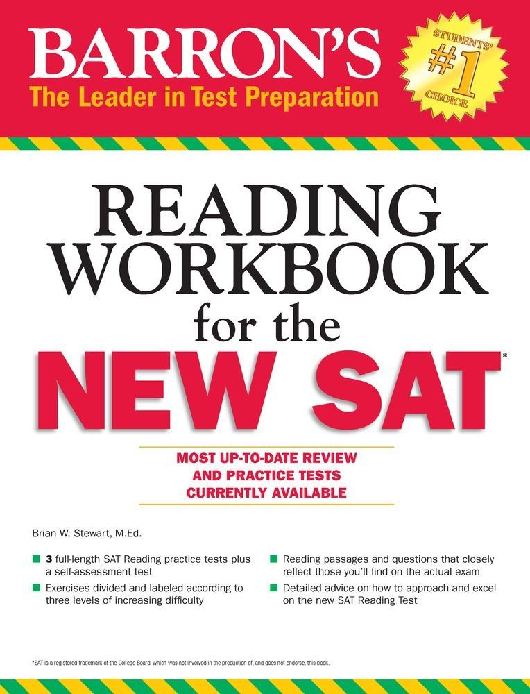 Barron's Reading Workbook for the NEW SAT (Critical Reading Workbook