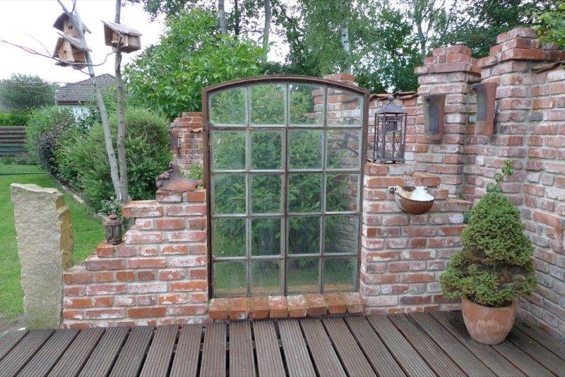 Bildergebnis für ruinenmauer sichtschutz Garden Planter Ideas - ruinenmauer im garten