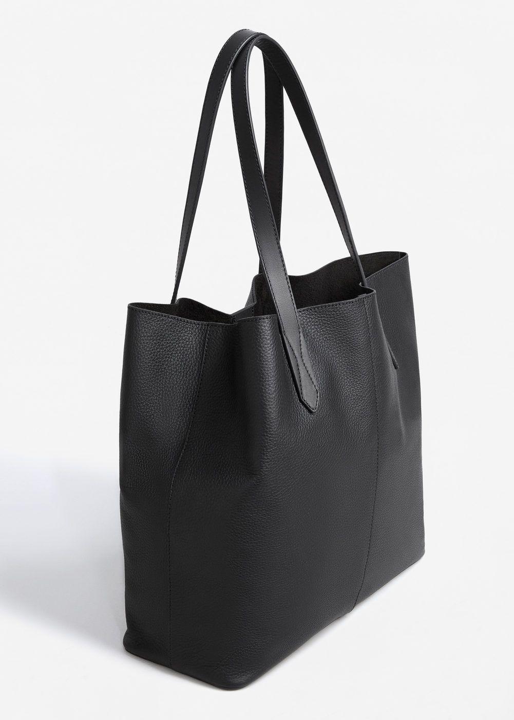 51ff6d264fc5b Skórzana torba shopper - Kobieta w 2019 | Chcę to | Cloth bags ...