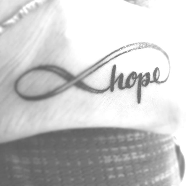 Hope Tattoo This Will Be My New Tat On Thursdayy With Color