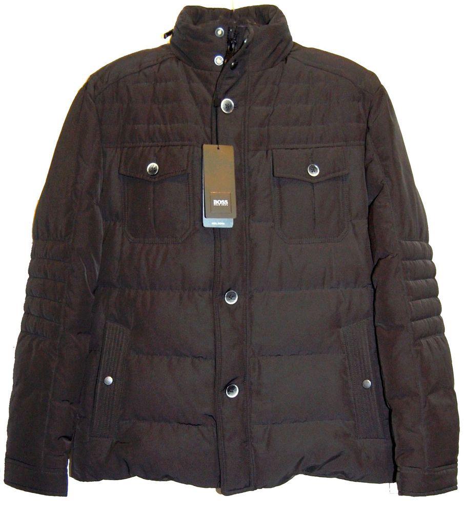Hugo boss hooded down puffer coat