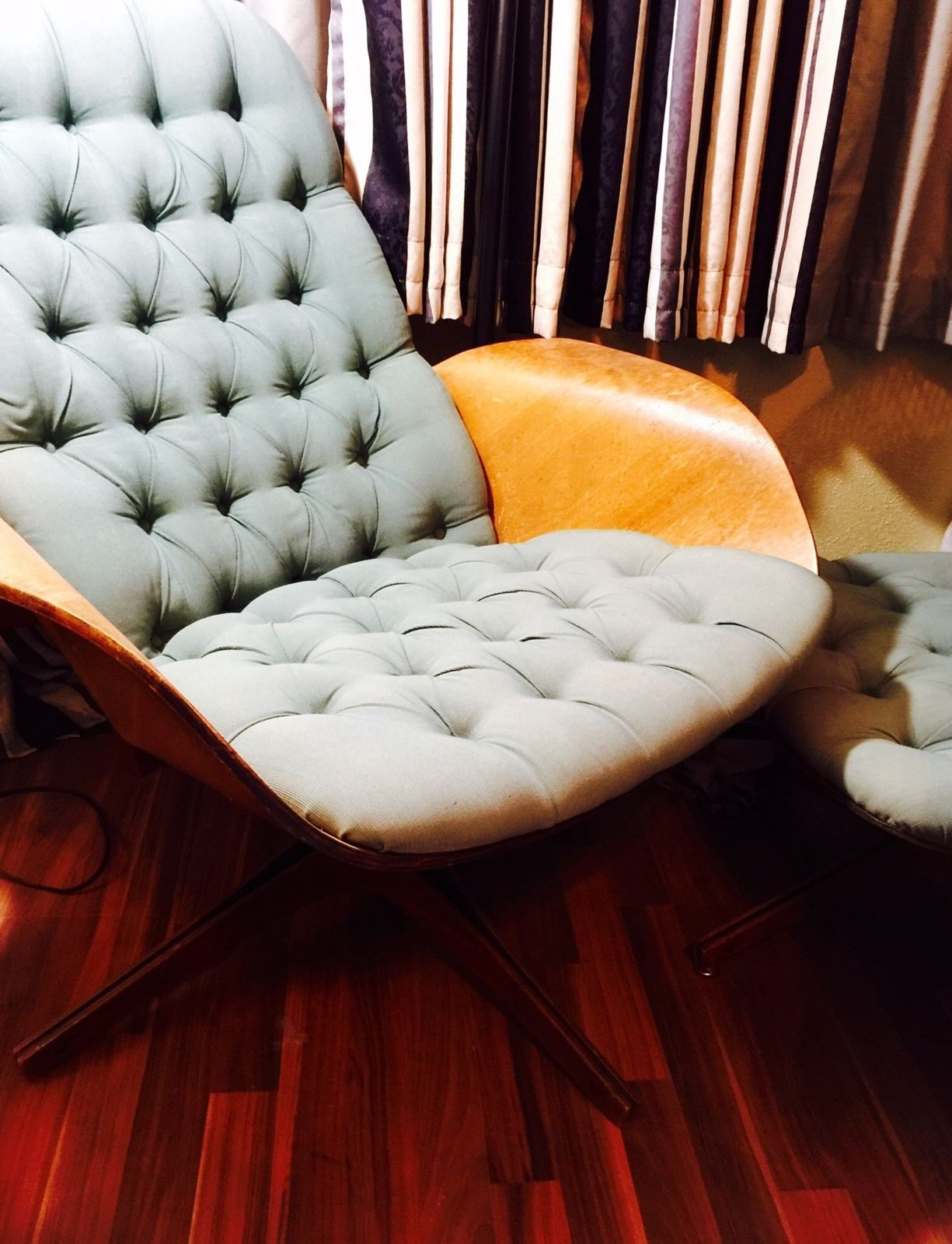 Pleasant George Mulhauser Mid Century Plycraft Tufted Lounge Chair Pdpeps Interior Chair Design Pdpepsorg