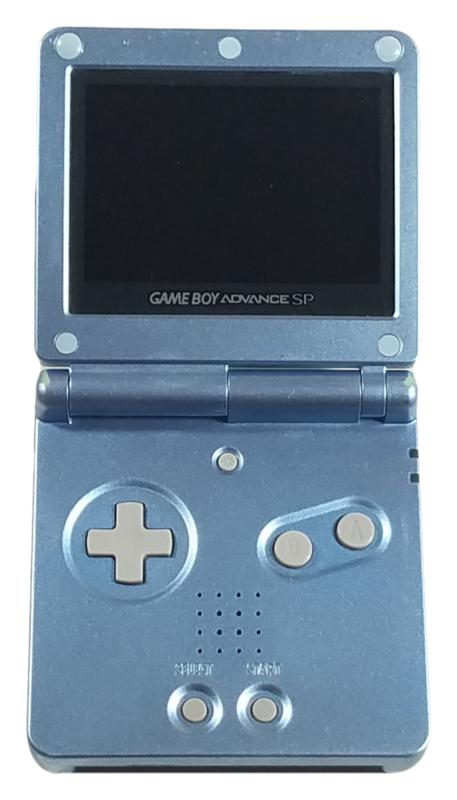 Nintendo Game Boy Advance Sp Console System Pearl Blue Gameboy Game Boy Advance Sp Nintendo