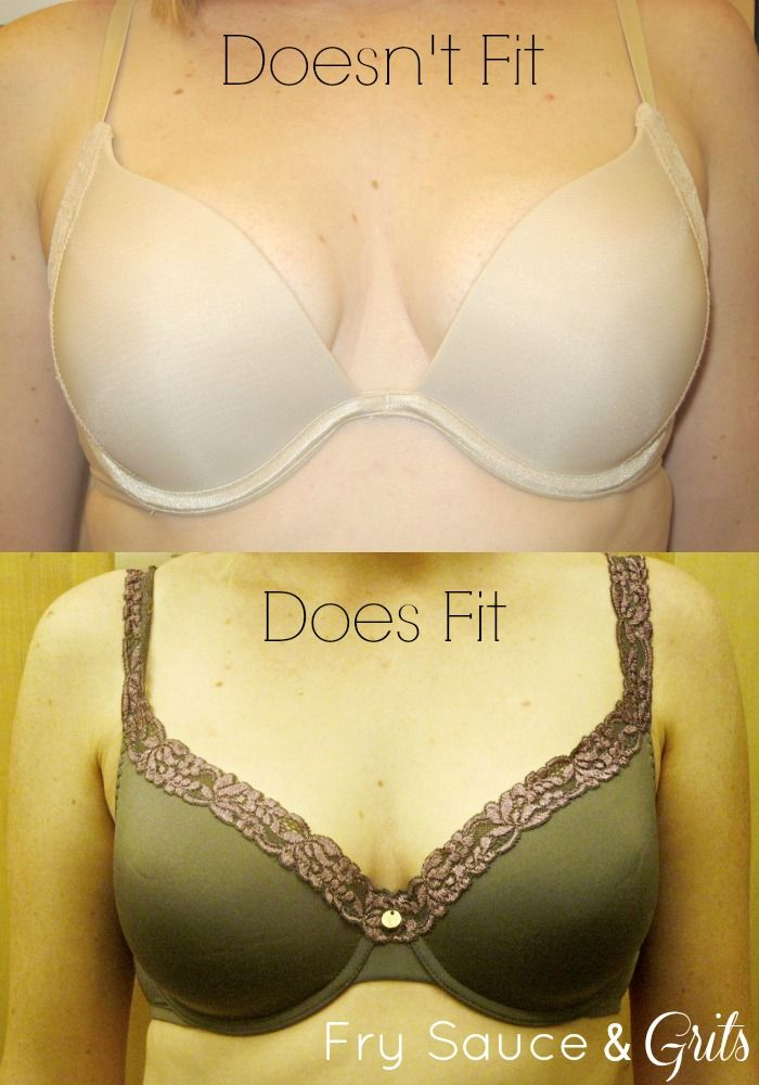 fcaf90e23961b Bra Size Calculator from FrySauceandGrits.com Great bra-fitting tips from a  certified bra fit person.