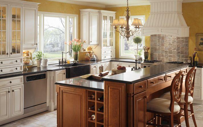 White Kitchen Cabinets & Design   Just Cabinets Furniture ...