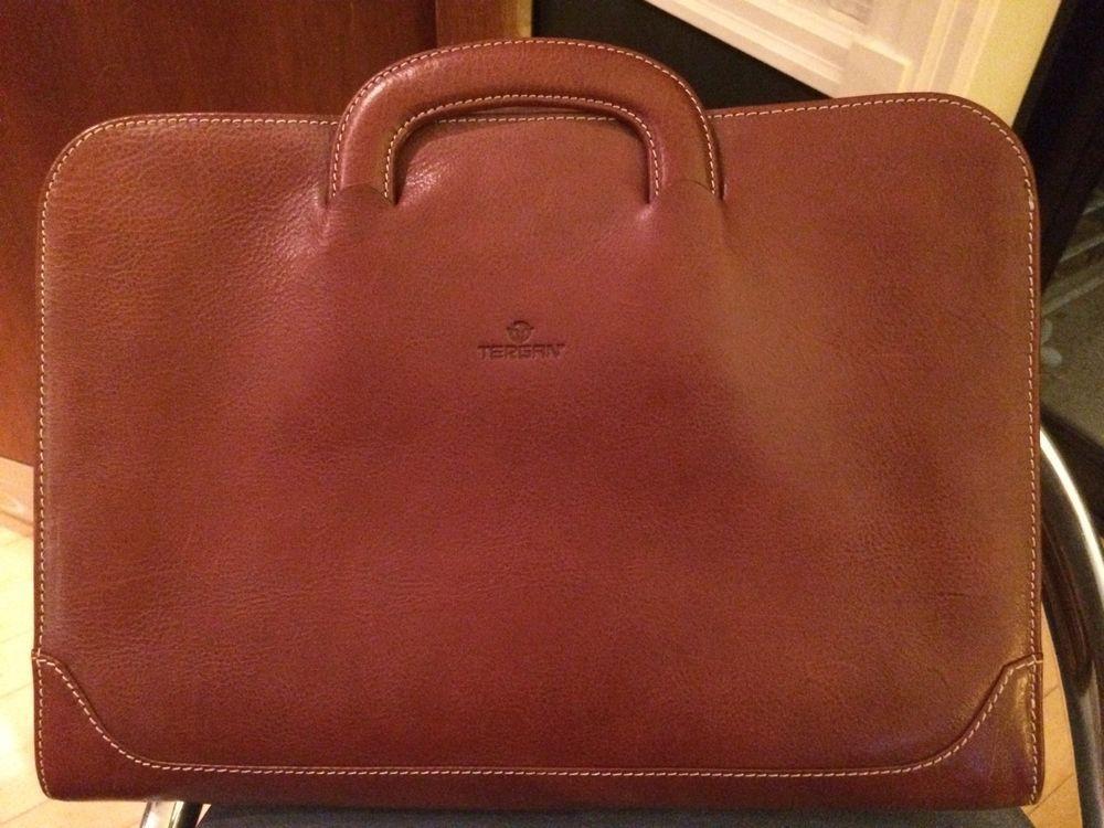 d3cfbe078186 Tergan Classic Briefcase Man s Bag Brown Briefcase For Men