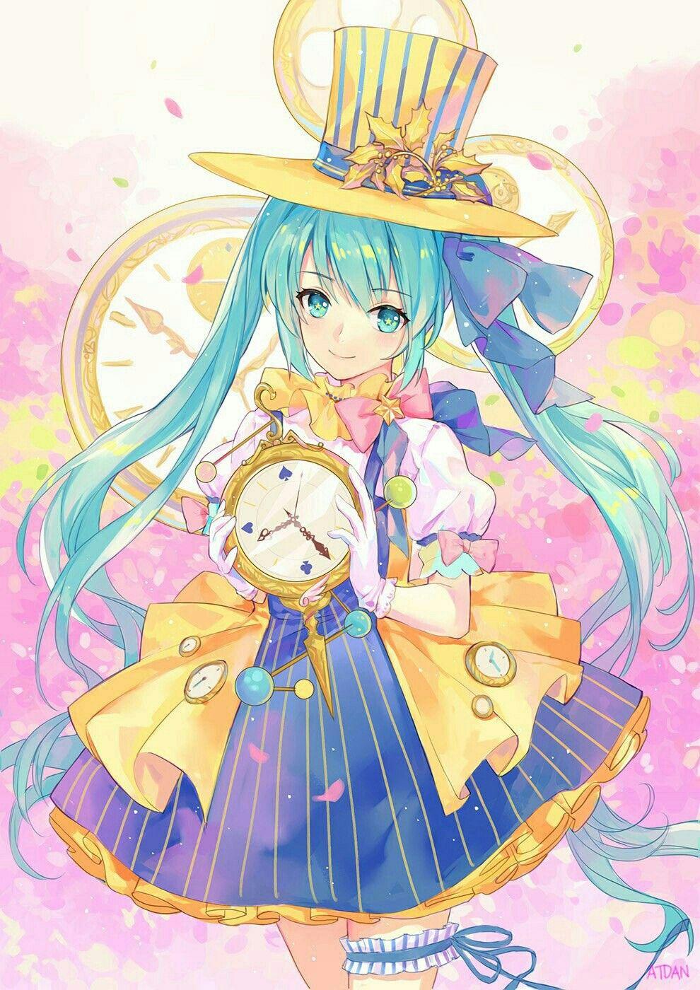 Anime, Art, Аниме, Hatsune Miku, Vocaloid Hatsune miku