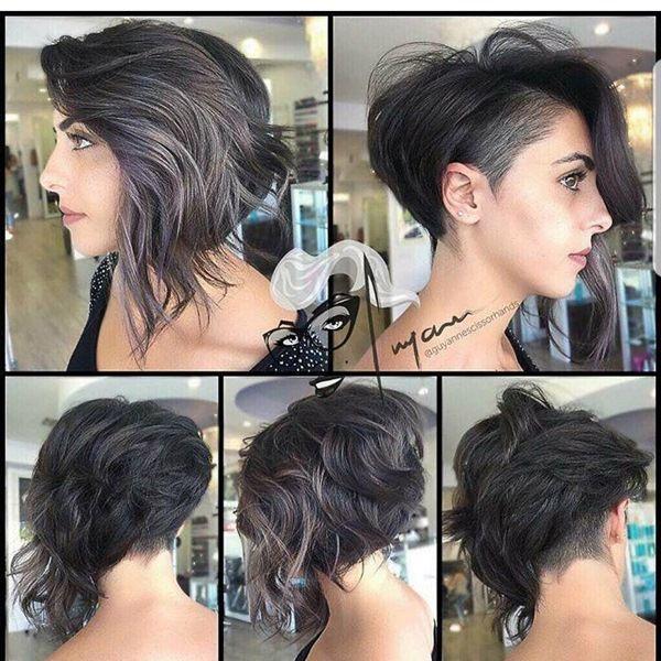 Bob Mit Sidecut Haircut In 2019 Frisuren Bob Frisur Und Haar Ideen