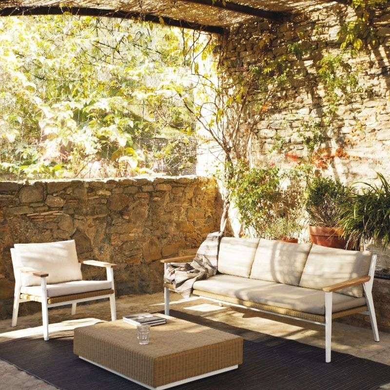 NEW! Riba Contemporary Outdoor Furniture from #Triconfort ... on Fine Living Patio Set id=44585