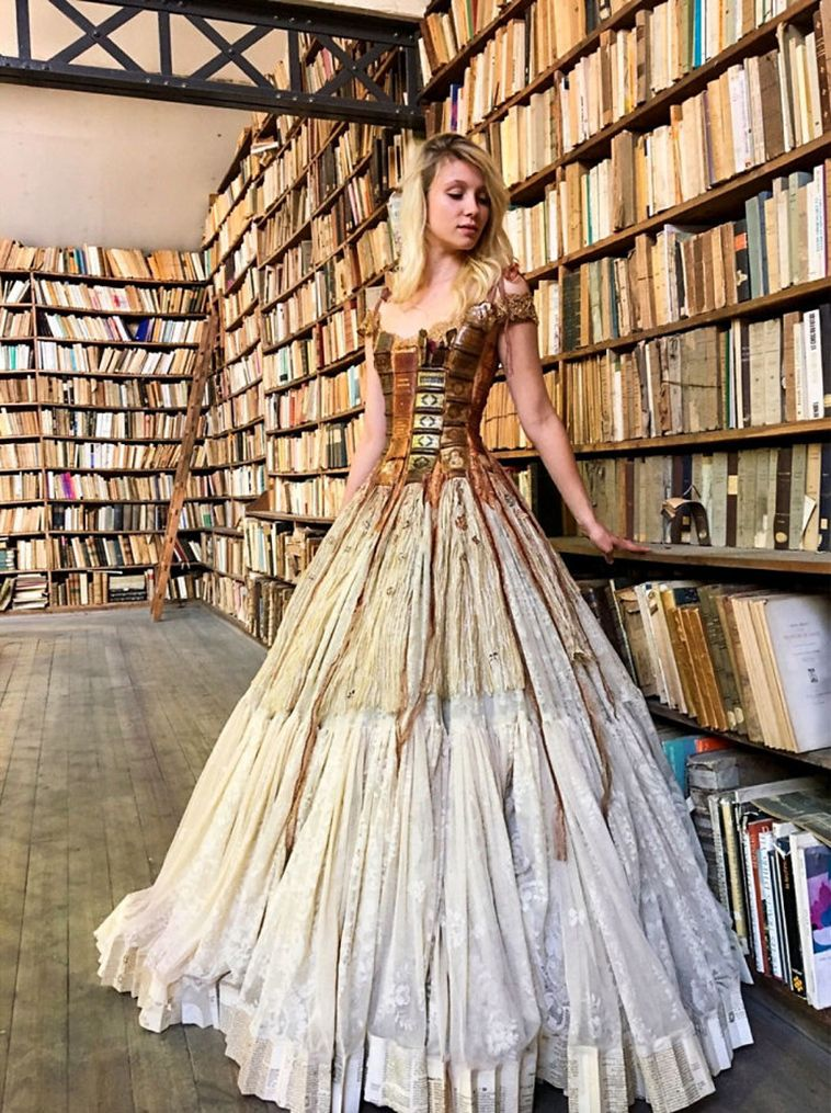wearable storybook dress