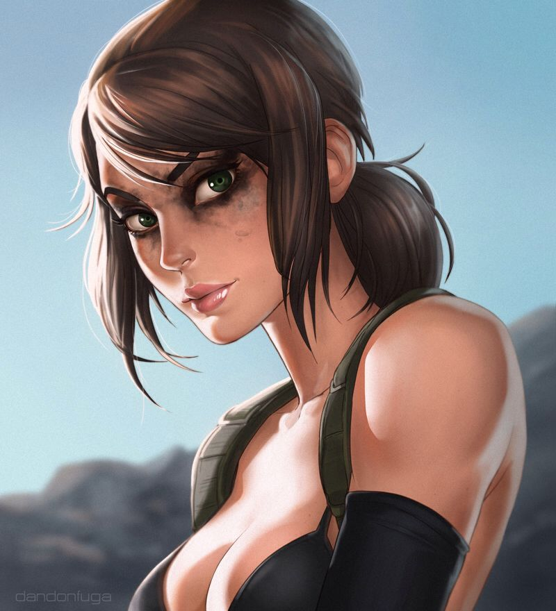 Quiet MGS5 by dandonfuga on @DeviantArt Anime y Más Pinterest - küchen u form bilder