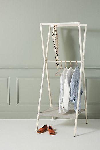 Westen Folding Garment Rack In 2020 Garment Racks Portable