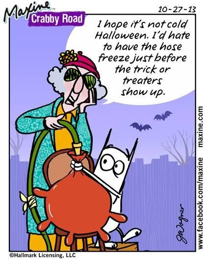 Image of: Candy Maxine Halloween Pinterest Maxine Halloween One Liners Two Liners Other Number Of Lines