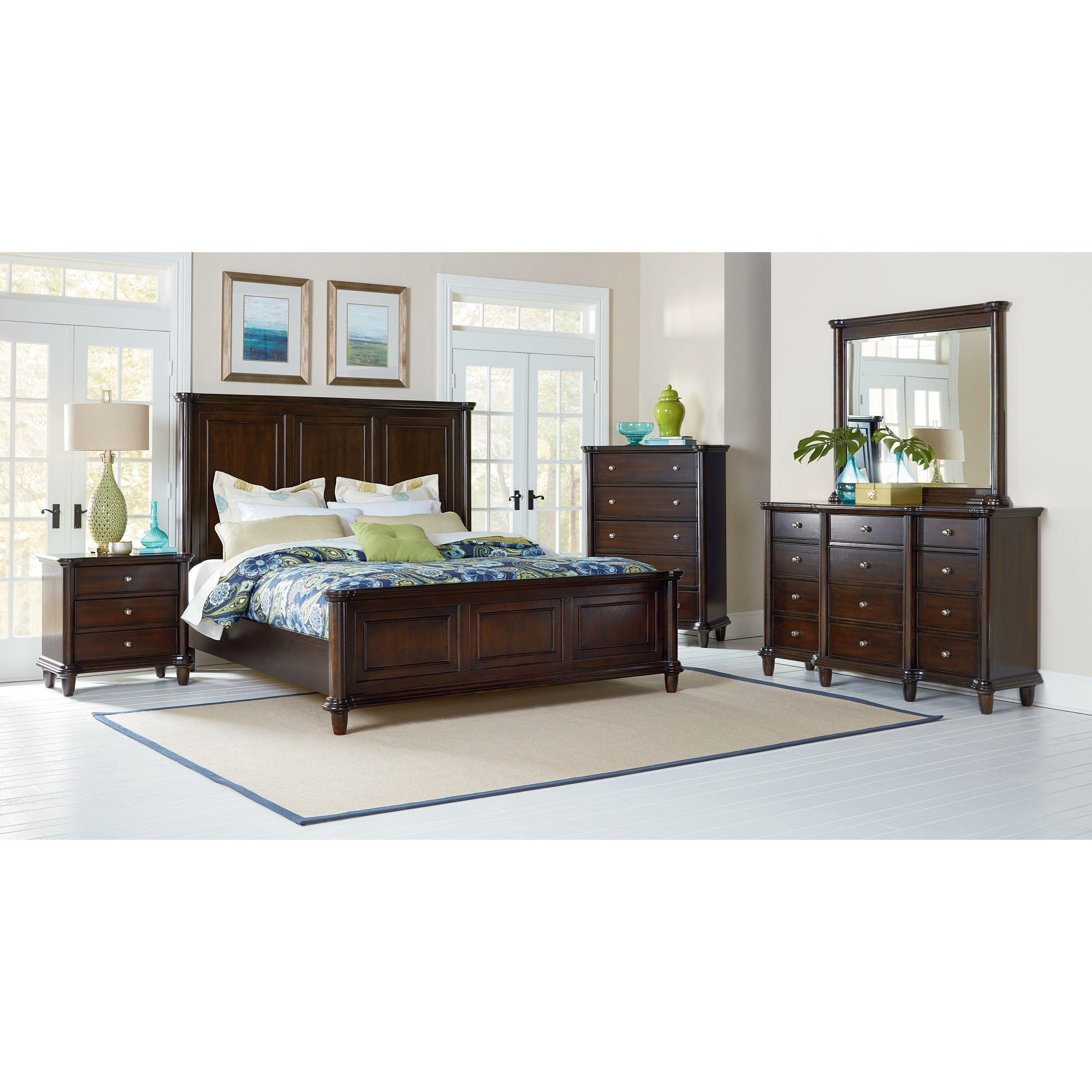 Bedroom Furniture Nashville the kingsley queen bedroom groupstandard furniture from royal