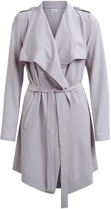 Object Ubergangsmantel Objannlee In Grau About You Kleidung Entwerfen Modestil Kleidung