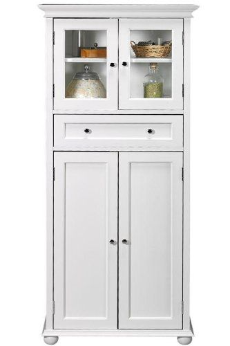 199 Amazon Com Hampton Bay 1 Drawer Tall Storage Cabinet 4 Door