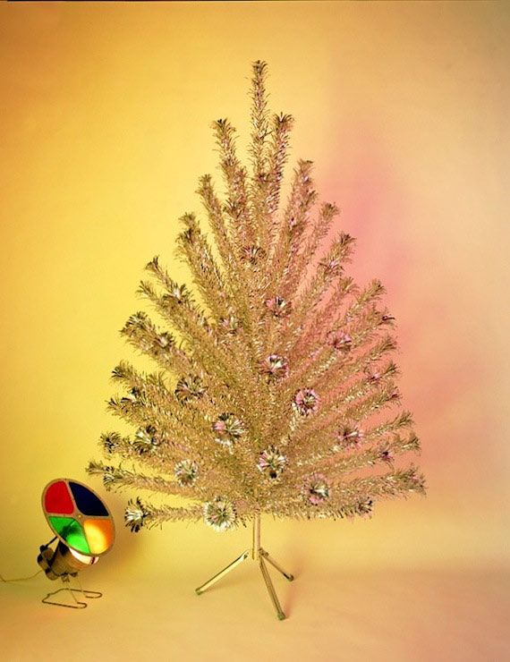 Aluminum Christmas Tree With Color Wheel Rainforest Islands Ferry