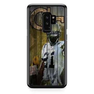 Calvin Johnson Georgia Tech Wood Wallpaper Samsung Galaxy S9 Plus Case Babycase In 2020 Samsung Wallpaper Samsung Galaxy S9 Wood Wallpaper