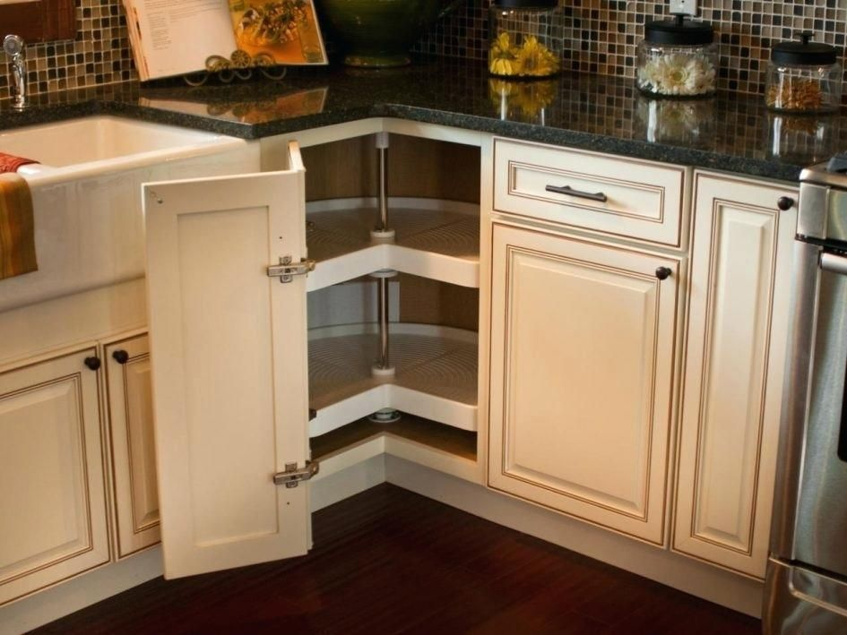 Blind Corner Kitchen Cabinet Organizers — Home Inspirations : IKEA Corner Kitchen Cabinet Ideas #cabinetorganizers